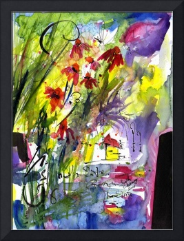 Intuitive Abstract Series # 04  by Ginette