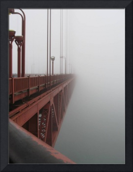 Golden Gate Bridge Disappears