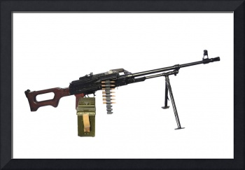 Russian 7.62mm PKM general-purpose machine gun