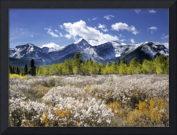 Little Elbow River Valley, Kananaskis Country, Alb