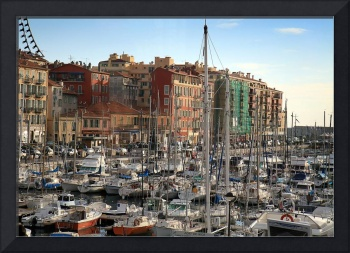 Port de Nice in the French Riviera