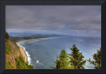0053 Overlooking Manzinita Oregon Coast