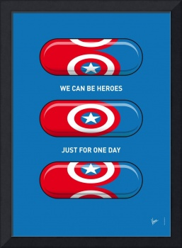 My SUPERHERO PILLS - Captain America