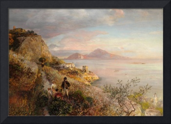 Gulf of Naples with a View of Capri