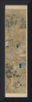 EIGHT DEPICTIONS OF FILIAL PIETY. China, 19th