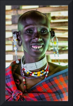 African Maasai Teacher 4256