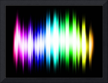 Rainbow Spectrum Light Rays