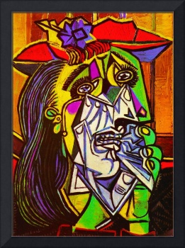 Pablo Picasso Weeping Woman Painting Famous