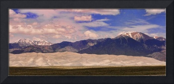 The Great Sand Dunes Panorama 2