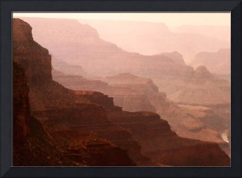 Mystic View of the Grand Canyon
