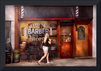Barber - Barbershop - Time for a haircut