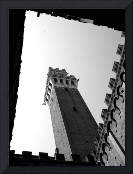 ROMAN HOLIDAY - Framed Campanile