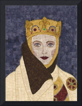 Countess Uta - fabric mosaic