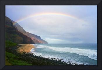 Kalalau Beach Rainbow