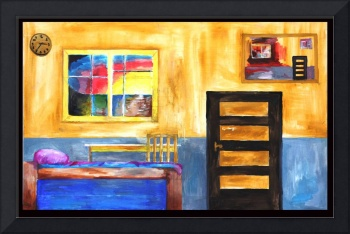 C:\fakepath\Room Phi,2012 Oil on canvas 80cm x 50c