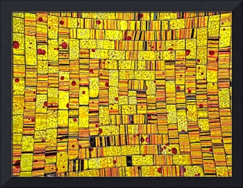 Balinese Glass Tile Art - Yellow
