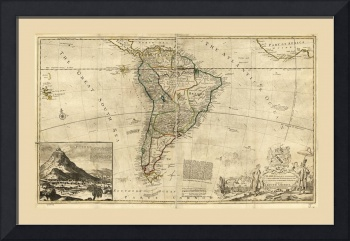 South America Map (1712)