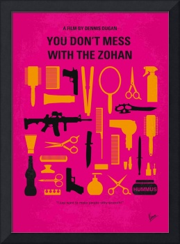No743 My You Dont Mess with the Zohan minimal movi