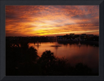 Sunset Oct 2011 Palm Beach Garden Florida 2