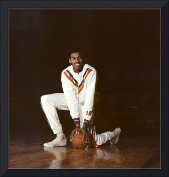 Wilt Chamberlain Philadelphia Warriors