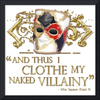 Richard The Third Villainy Quote