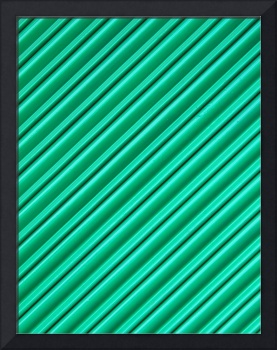 Angled Green Security Shutter