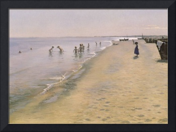 Summer Day at the South Beach of Skagen, 1884