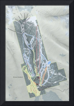 Arizona Snowbowl Resort Trail Map