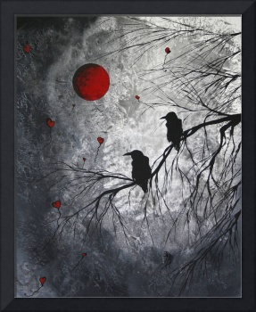 The Overseers by MADART Abstract Bird ART