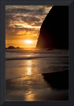 Haystack Rock in Color