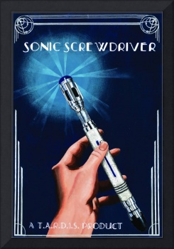 Art Deco Sonic Screwdriver Ad
