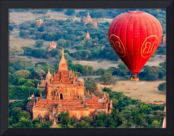 Bagan Temple by Balloon