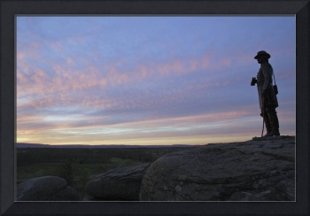 1DH427 Sunset from Little Round Top