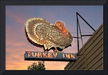 Neon Sign Turky Bar Inn