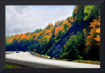HDR Image, TCH 104 East of Antigonish NS 2009