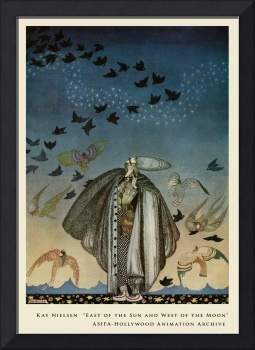 Birds  Blacken the Sky by Kay Nielsen