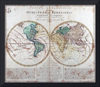World Map 1760
