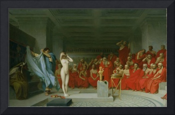 Phryne Before the Jury by Jean Leon Gerome