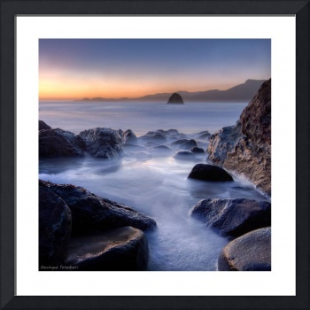 Marshall's Beach - California (White frame)