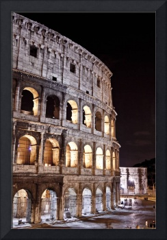 The Colosseum and Constantine Arch