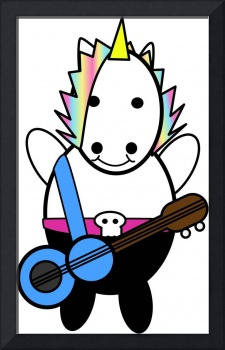 Unicorn Kawaii Punk Bassist
