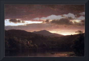Twilight (Catskill Mountain) by Frederick Church