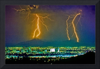 Phoenix Arizona Lightning Strikes