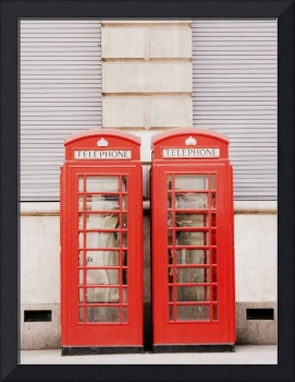Pair Of Phone Boxes