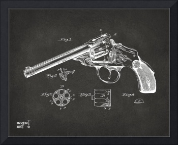 Wesson 1889 Revolver Patent Minimal