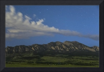 Rocky Mountain Foothills Starlight View