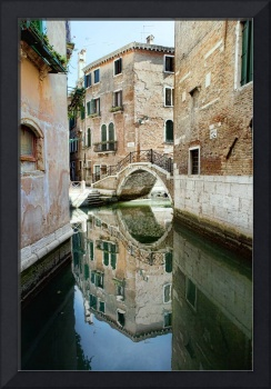 Mirrored Reflections in Venice