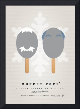 My MUPPET ICE POP - Statler and Waldorf