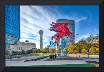 Dallas Red Pegasus