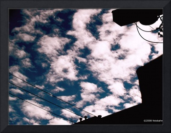 Marching Clouds by Nasserali Pourzand